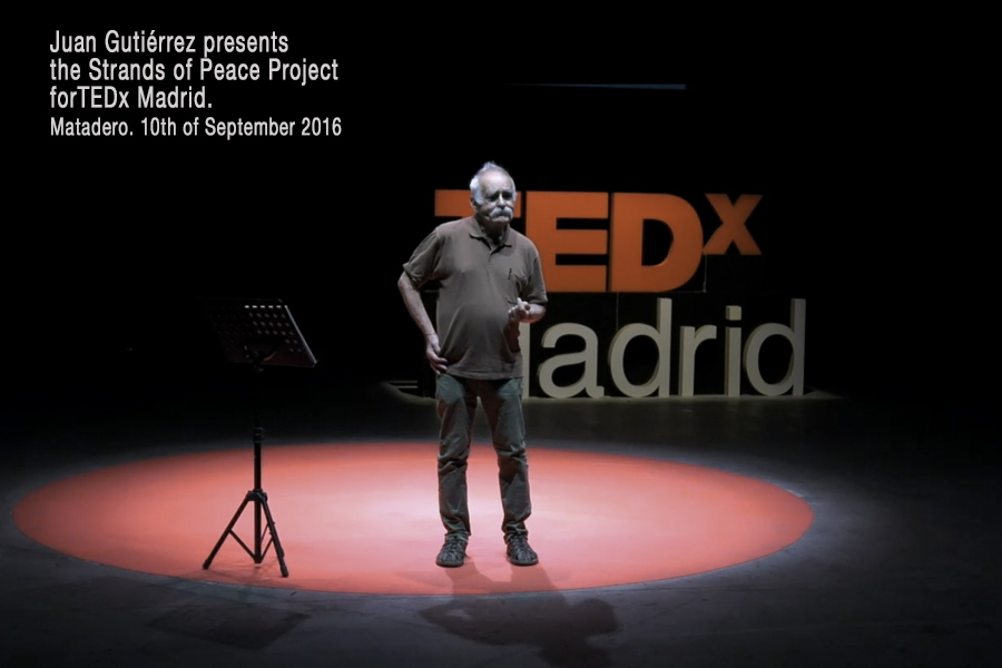 Juan Gutiérrez in TEDx Madrid